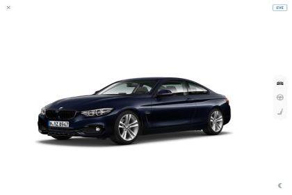 BMW Serie 4 420dA Coupé