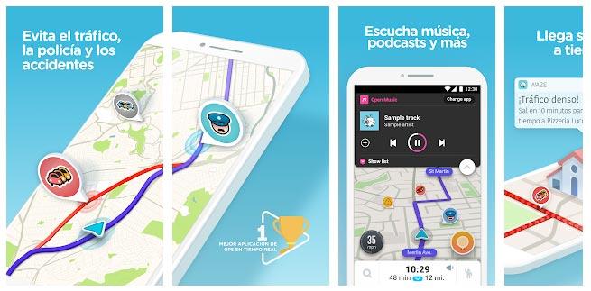 App coche Waze