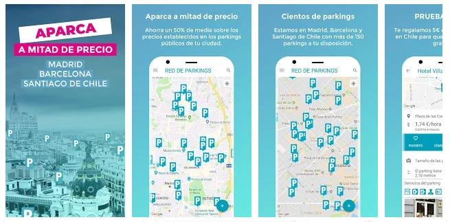 App coche We smart Park