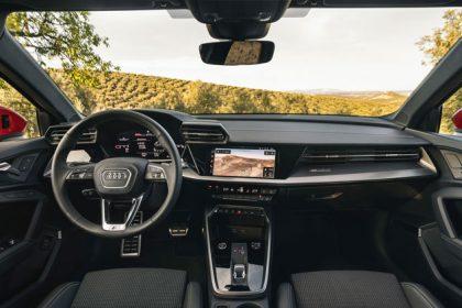 Interior del Audi A3 Sportback