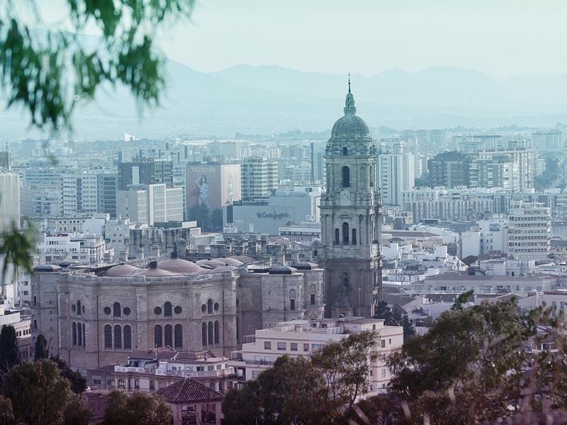 viajar en coche por Málaga