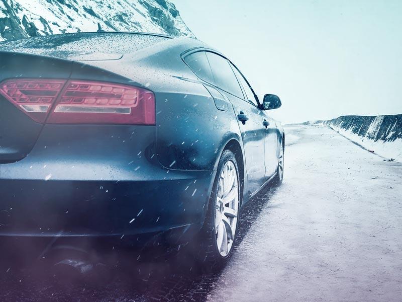 Cómo poner cadenas de nieve en el coche