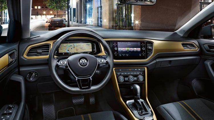 Interior del Volkswagen T-Roc